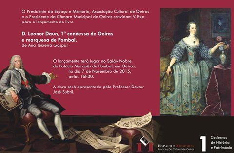 2015 - Lançamento do livro D Leonor Daun